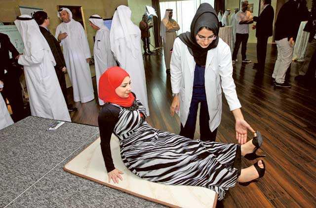 Canadian firm hosts physiological workshop for Muslim prayer
