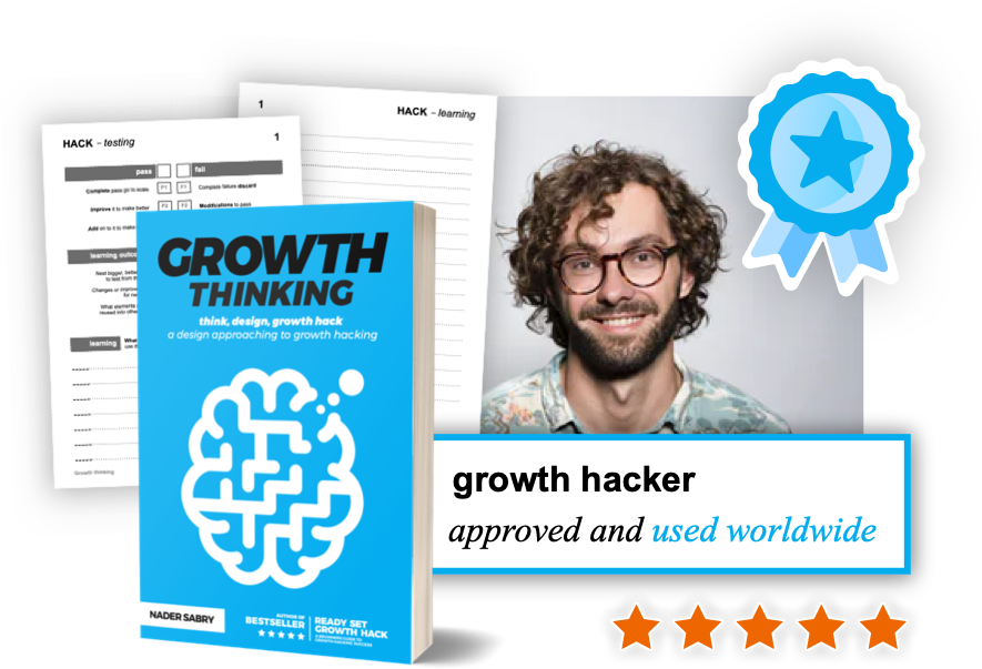 Growth Thinking Book - Think, Design, Growth Hack