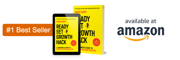 Ready Set Growth Hack Book 1 - Growth Thinking - think, design, growth hack  a design approaching to growth hacking